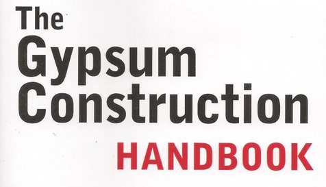Gypsum Construction Handbook Update